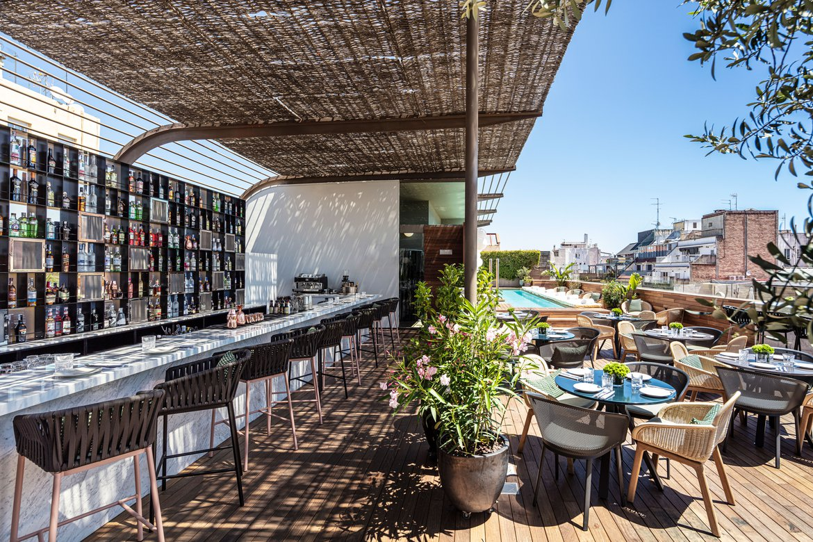 The Rooftop Sir Victor Hotel Barcelona Sir Hotels